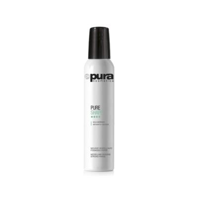 PURE SHAPE 300ml - tőemelő és modellező hajhab erős tartással